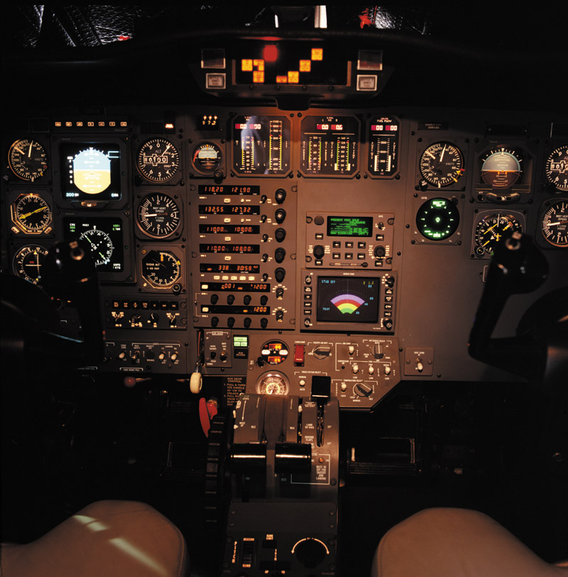CNI_5000 Panel Installed in cockpit