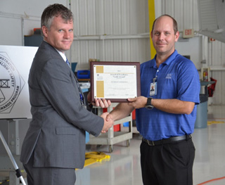 FAA Gold Award of Excellence